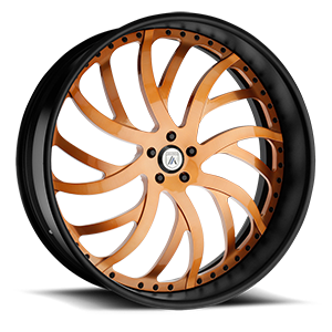 Asanti Wheels - AF862 Orange 5 lug