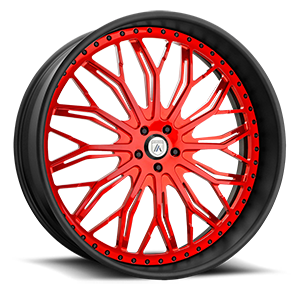 Asanti Wheels - AF866 Red 5 lug