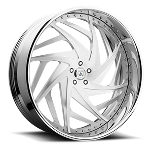 Asanti Wheels - AF863 Brushed 5 lug