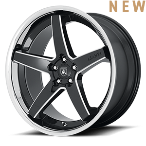 Asanti Wheels - ABL-31 Gloss Black Milled 5 lug