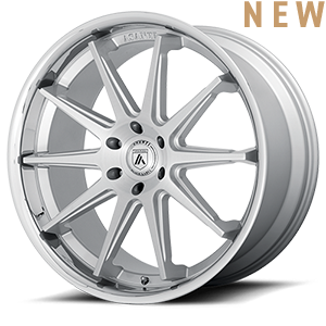 ABL-29 Emperor Silver Chrome Lip 6 lug