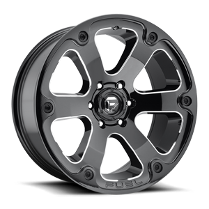 Fuel 1-Piece Wheels Beast - D562