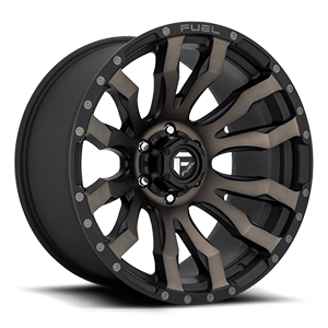 Fuel 1-Piece Wheels Blitz - D674 6 Matte Black/Machined/DDT