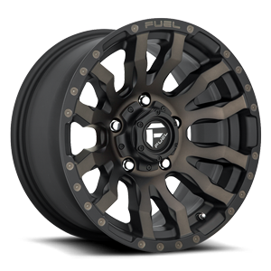 Blitz - D674 5 16x8 ET1 | Matte Black/Machined/DDT