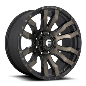 Blitz - D674 8 22x10 ET-18 | Matte Black/Machined/DDT