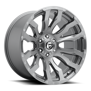 Fuel 1-Piece Wheels Blitz - D693 6 Platinum