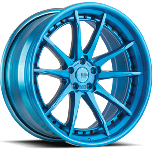 BM12-L Brushed Blue 5 lug