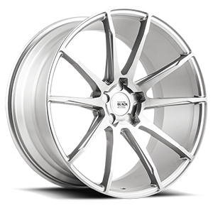 BM12 Machined Silver 5 lug
