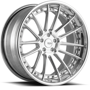 BM9-L Brushed and Polished 5 lug