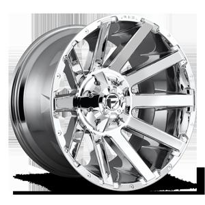 Fuel 1-Piece Wheels Contra - D614