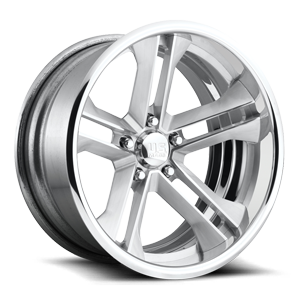 Coronado Concave - U516 18X9 | Brushed w/ Polished Lip 5 lug