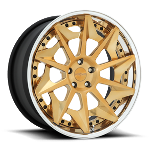 CVT Brushed Candy Gold 5 lug