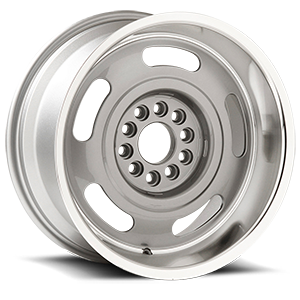 Corvette Rally (Series 623) Silver Machined 5 lug