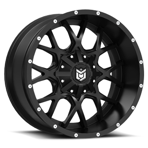 DS645 Gloss Black with Mirror Machined Face 6 lug