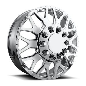 FF19D 28 Polished 10 lug
