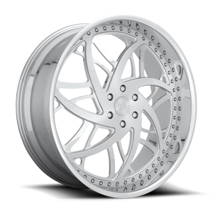 XB80 26x10 | Brushed Face/ Polished Accents / Polished Lip 6 lug