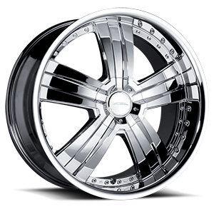 Deluxe Chrome 5 lug