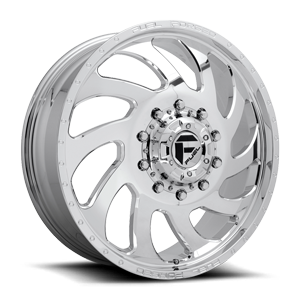 Fuel Dually Wheels FF84D - Front