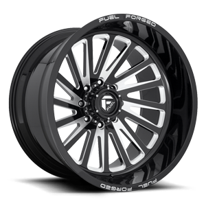 Fuel Forged Concave FFC16 | Concave 8 Lug 8 Gloss Black & Milled