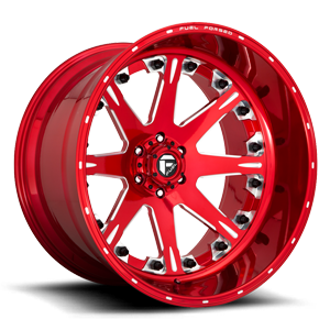 Fuel Forged Concave FFC25 | Concave 6 Soft Candy Red & Milled