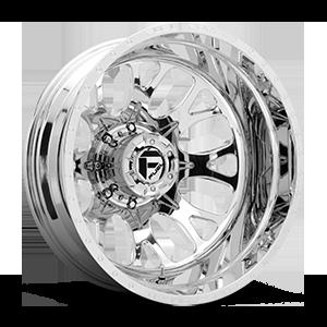 Fuel Dually Wheels FF88D - Rear
