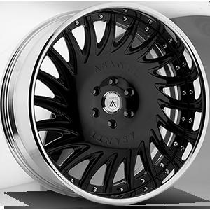 Asanti Custom Inventory Series - FS06 - 6 X 139.7 BK