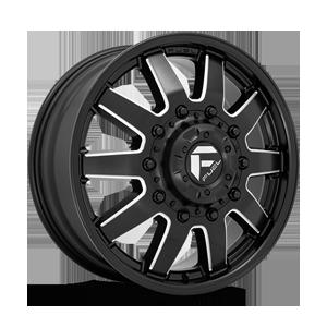 Fuel Dually Wheels Maverick Dually Front - D538 10 Lug