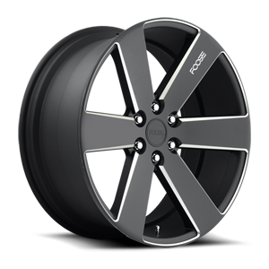 Switch - F158 Black & Milled 6 lug
