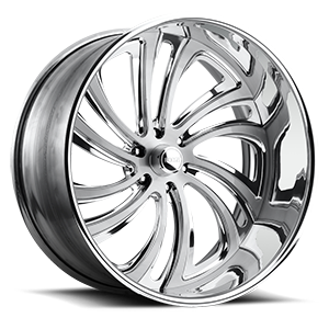Twizz - F216 Brushed and Polished 6 lug