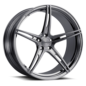 FCS-108 Brushed Gloss Smoke 5 lug