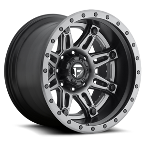 Fuel 2-Piece Wheels Hostage II - D232 8 Anthracite Center | Matt Black & Anthracite Outer