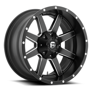Fuel 1-Piece Wheels - Maverick - D538