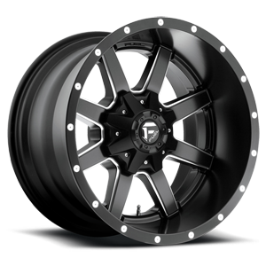 Maverick - D538 Black & Milled 8 lug