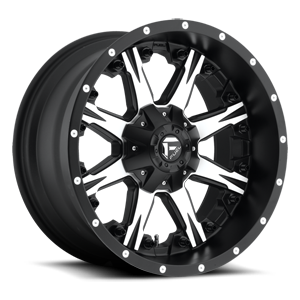 Nutz - D541 5 Black & Machined