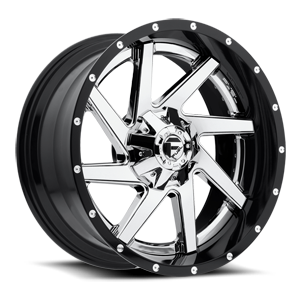 Fuel 2-Piece Wheels Renegade - D263 5 Chrome Center and Gloss Black Outer