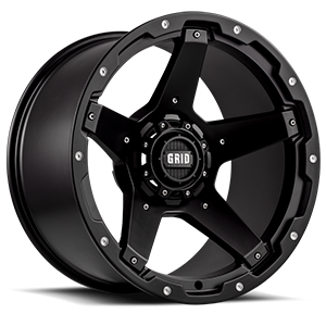 Grid GD4 5 Matte Black