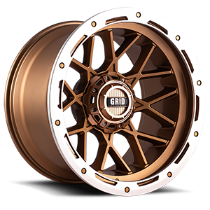 Grid GD13 6 Matte Bronze