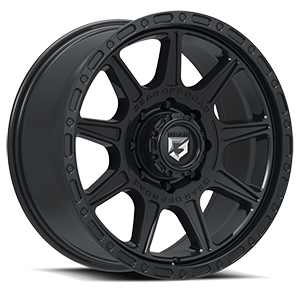 759 Sector-T Satin Black 8 lug