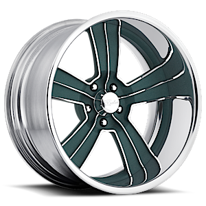 Hooligan Green 5 lug