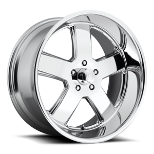 Hustler - U116 Chrome 5 lug