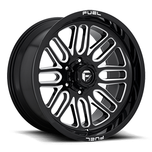 Ignite - D662 6 Gloss Black & Milled
