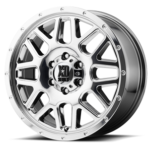 XD820 Grenade Chrome 6 lug