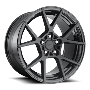 KPS Matte Black Face w/ Gloss Black Windows 5 lug