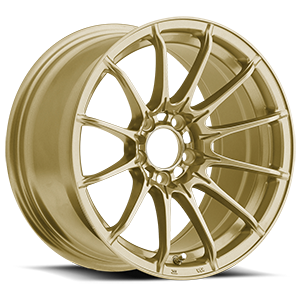 Konig Wheels Dial-In 5 Gloss Gold