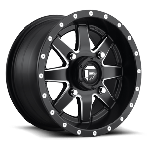 Maverick - D538 - UTV 14x7 | Black & Milled