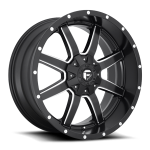 Maverick - D538 6 Matte Black & Milled