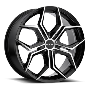 MKW M121 5 Black Machined