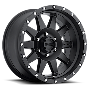 MR301 The Standard Matte Black 6 lug
