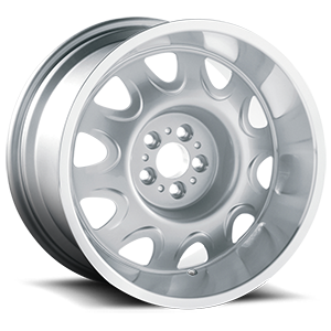 Mopar Rallye (Series 619) Silver Machined 5 lug