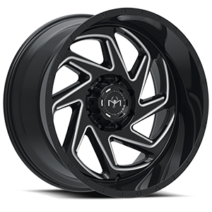 426 Morph Black Milled 8 lug